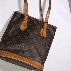 Authentic Louis Vuitton Bucket tote